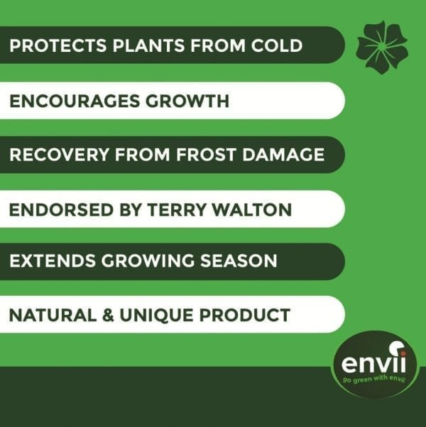 Envii Early Starter Concentrate features for our winter protection for plants