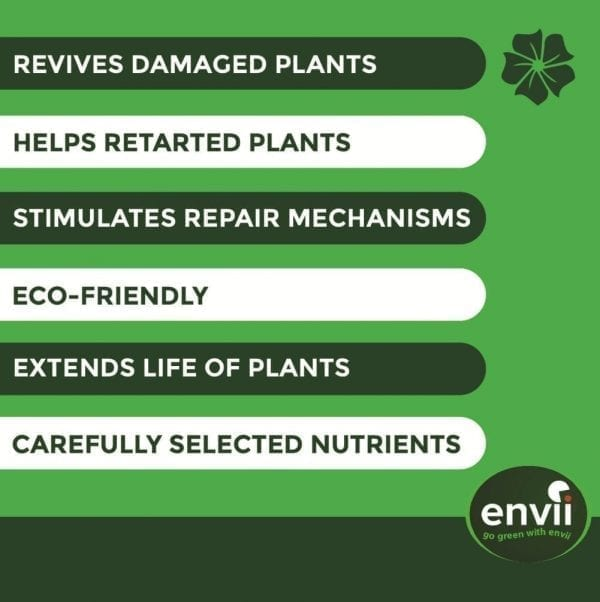Envii Revive features to revive plants