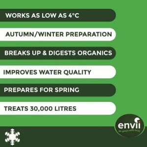 Envii Winter Pond Treatment features