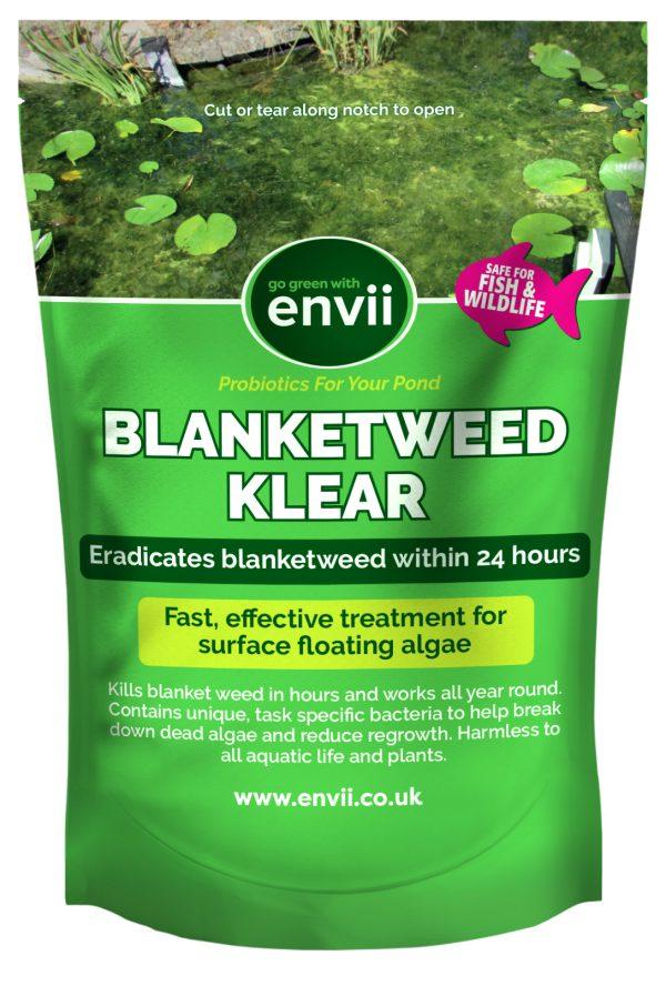 Front view of Blanketweed Klear blanket weed killer