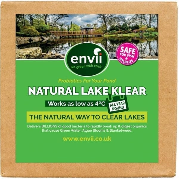 Envii Lake Klear Product Front Image for our lake water treatment