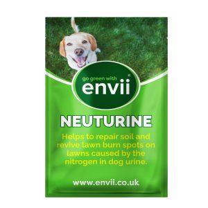 front view of Envii Neuturine our dog urine grass repair treatment