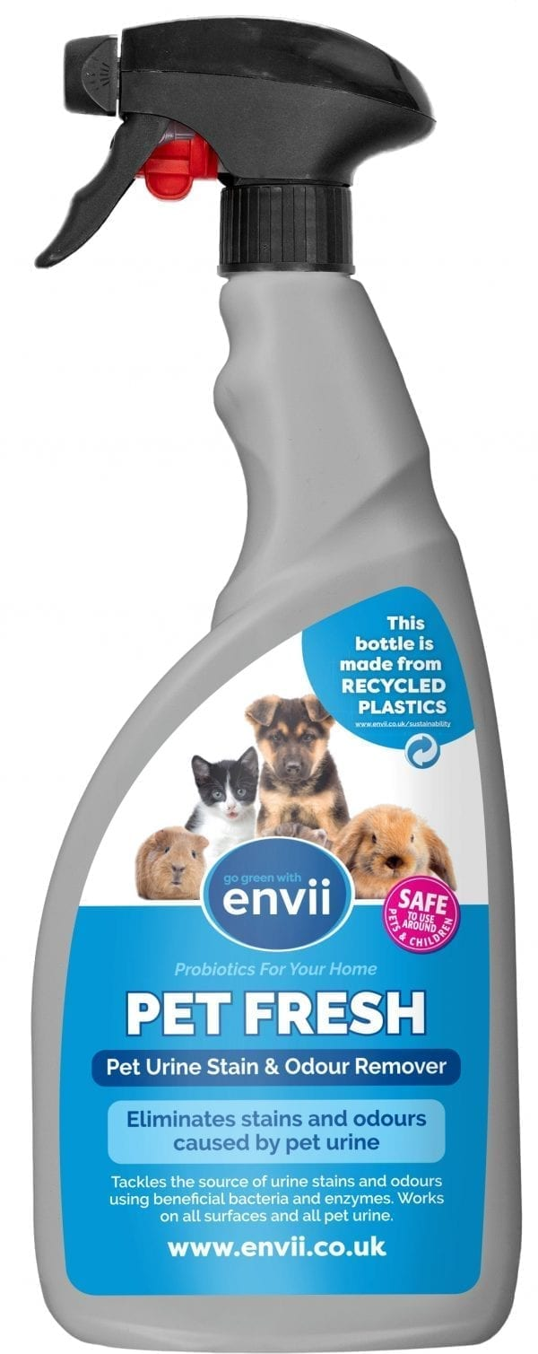 Envii Pet Fresh pet odour eliminator made from recycled plastic