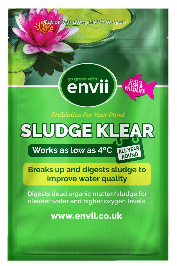 Sludge Klear sludge remover for ponds - packet