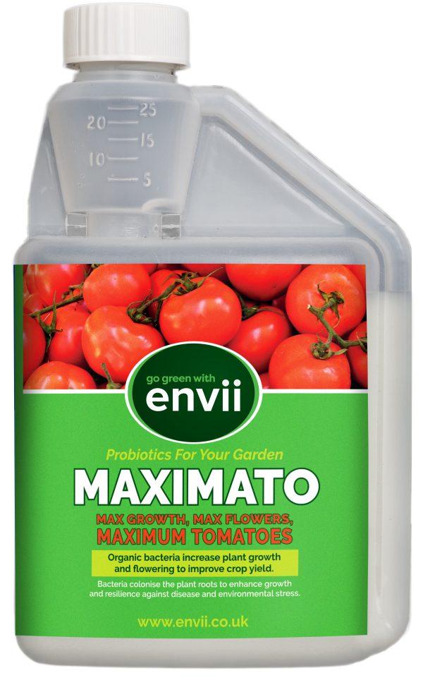 Envii Maximato 500ml Bottle our organic tomato fertiliser