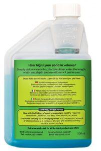 Envii Chlorine Klear pond dechlorinator bottle