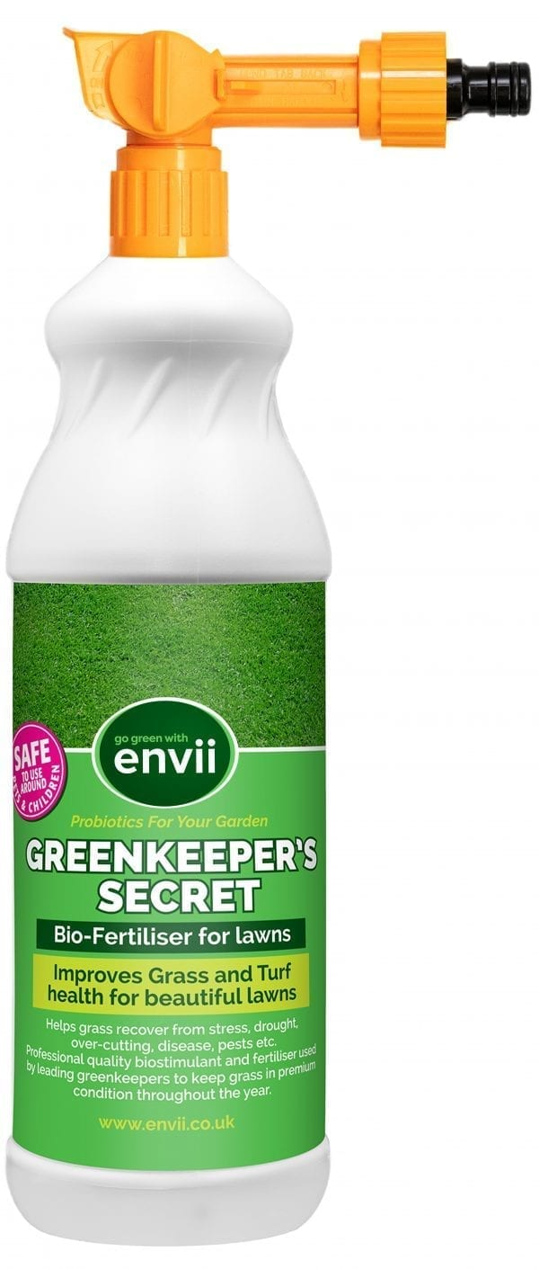 Greenkeepers Secret front of bottle