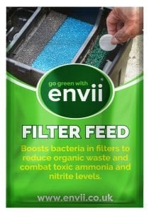 Envii Filter Feed pond filter bacteria packet front