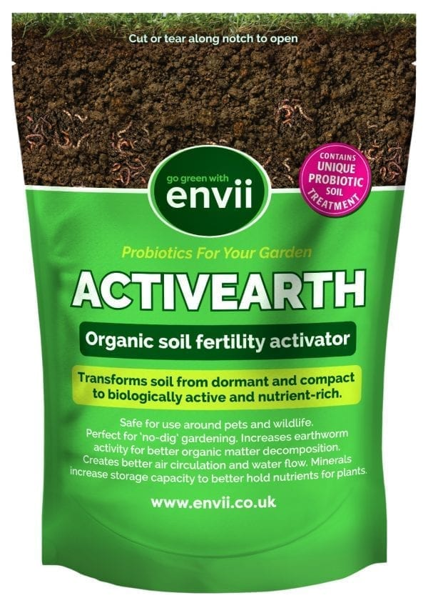 front view of Activearth soil fertility activator