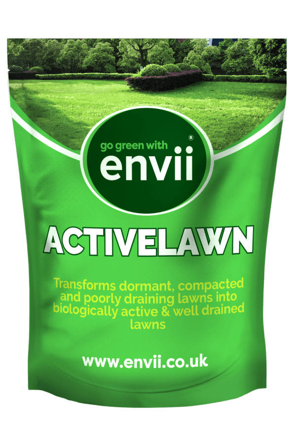 Envii Active Lawn organic soil conditioner for lawns