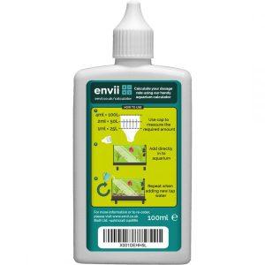 Envii Aquarium Chlorine Klear Back label
