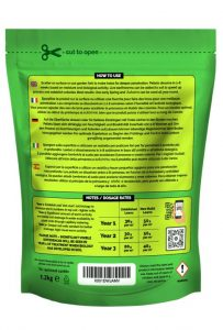 Envii Active Lawn organic soil conditioner for lawns back