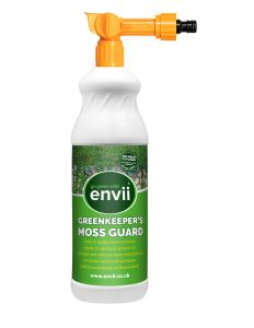 Envii Greenkeeper's Moss Guard front moss treatment for lawns